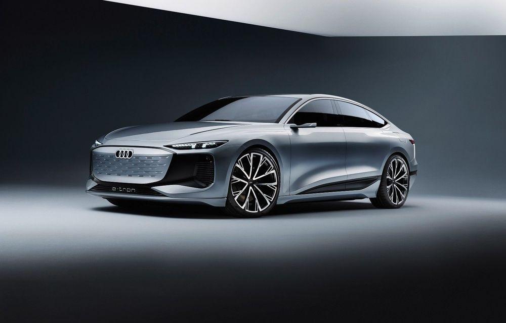 Audi prezintă conceptul electric A6 e-tron: autonomie de peste 700 de kilometri și încărcare rapidă la 270 kW - Poza 1