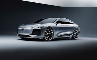 Audi prezintă conceptul electric A6 e-tron: autonomie de peste 700 de kilometri și încărcare rapidă la 270 kW