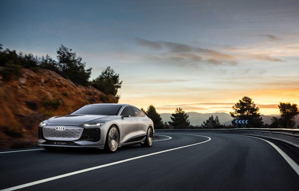 Audi prezintă conceptul electric A6 e-tron: autonomie de peste 700 de kilometri și încărcare rapidă la 270 kW - Poza 24