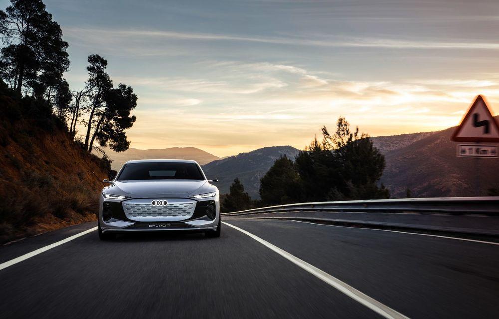 Audi prezintă conceptul electric A6 e-tron: autonomie de peste 700 de kilometri și încărcare rapidă la 270 kW - Poza 3