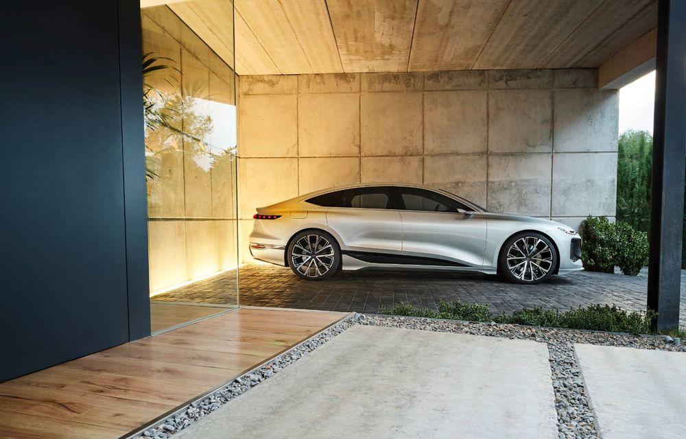 Audi prezintă conceptul electric A6 e-tron: autonomie de peste 700 de kilometri și încărcare rapidă la 270 kW - Poza 34