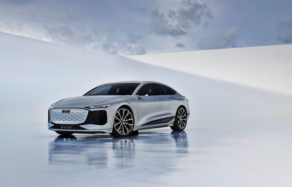 Audi prezintă conceptul electric A6 e-tron: autonomie de peste 700 de kilometri și încărcare rapidă la 270 kW - Poza 26