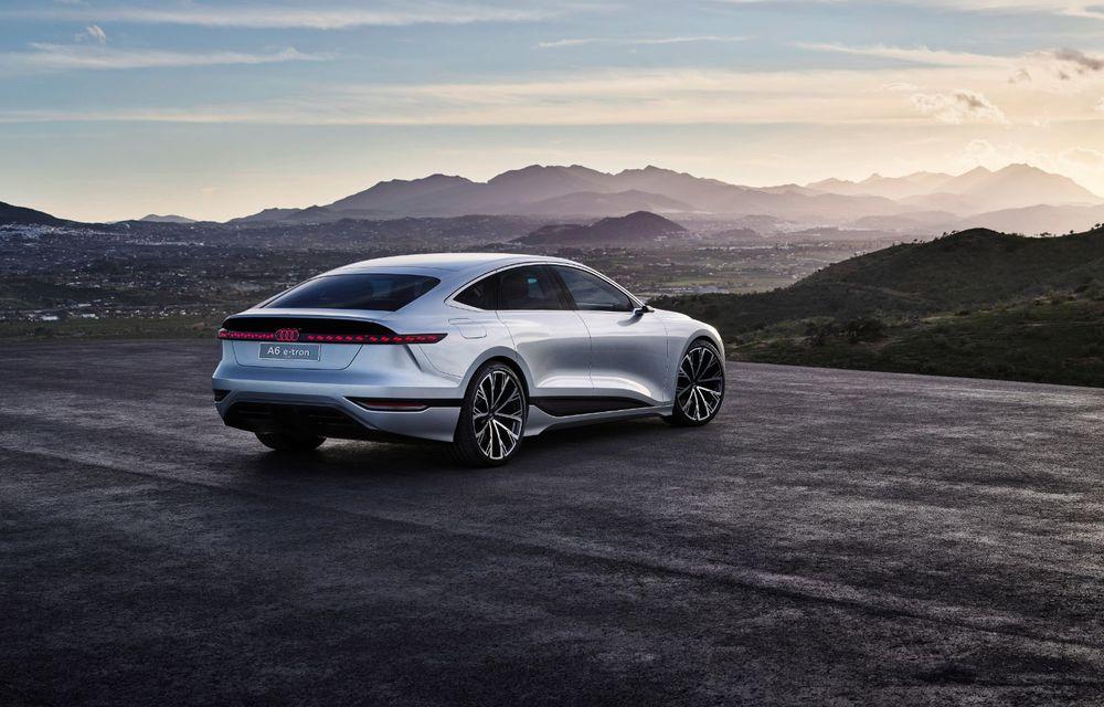 Audi prezintă conceptul electric A6 e-tron: autonomie de peste 700 de kilometri și încărcare rapidă la 270 kW - Poza 11