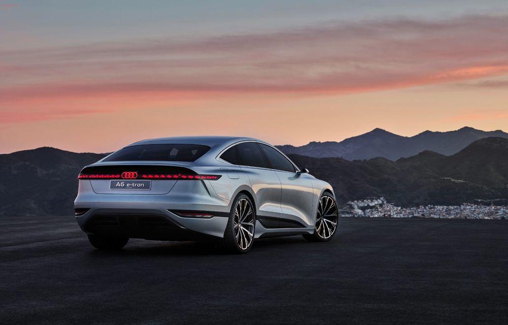 Audi prezintă conceptul electric A6 e-tron: autonomie de peste 700 de kilometri și încărcare rapidă la 270 kW - Poza 12