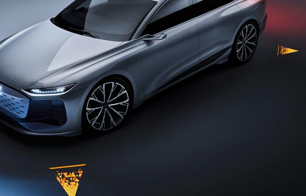 Audi prezintă conceptul electric A6 e-tron: autonomie de peste 700 de kilometri și încărcare rapidă la 270 kW - Poza 23