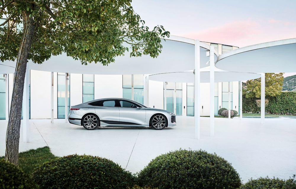 Audi prezintă conceptul electric A6 e-tron: autonomie de peste 700 de kilometri și încărcare rapidă la 270 kW - Poza 40