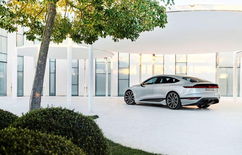 Audi prezintă conceptul electric A6 e-tron: autonomie de peste 700 de kilometri și încărcare rapidă la 270 kW - Poza 42