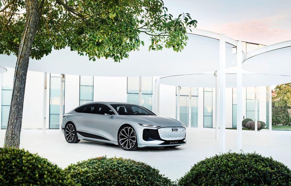 Audi prezintă conceptul electric A6 e-tron: autonomie de peste 700 de kilometri și încărcare rapidă la 270 kW - Poza 41