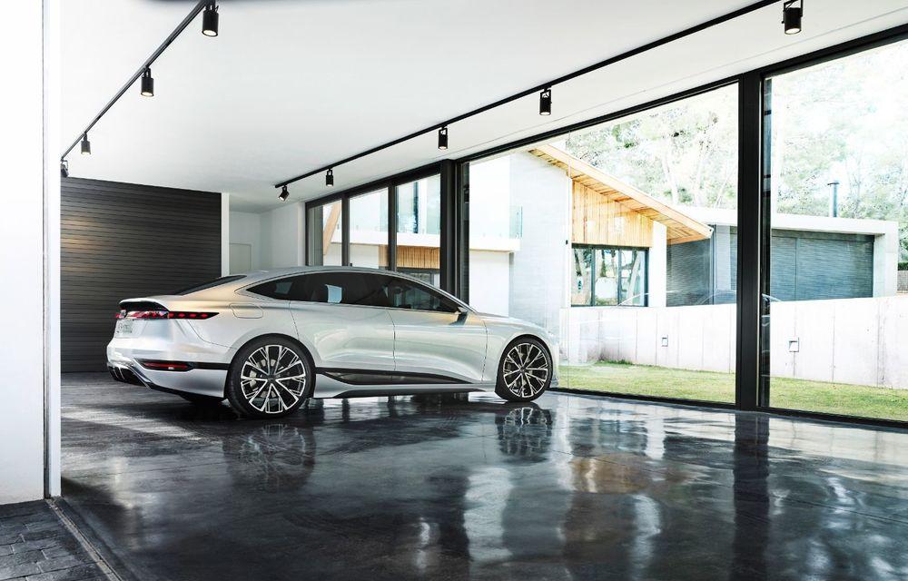 Audi prezintă conceptul electric A6 e-tron: autonomie de peste 700 de kilometri și încărcare rapidă la 270 kW - Poza 37