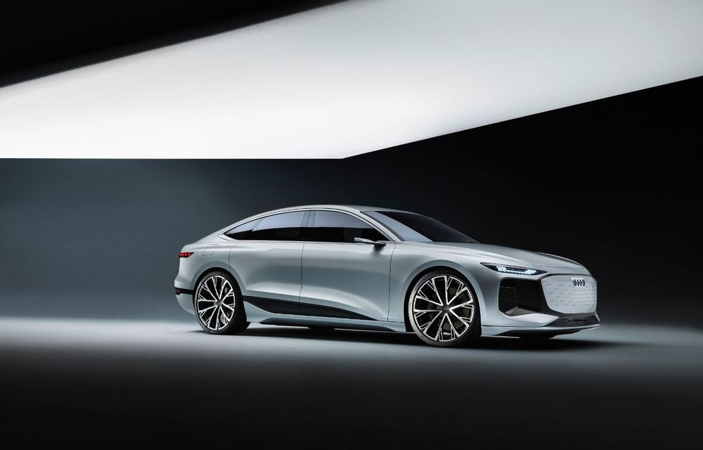 Audi prezintă conceptul electric A6 e-tron: autonomie de peste 700 de kilometri și încărcare rapidă la 270 kW - Poza 15