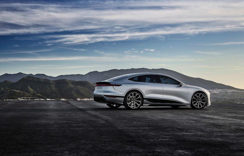 Audi prezintă conceptul electric A6 e-tron: autonomie de peste 700 de kilometri și încărcare rapidă la 270 kW - Poza 10