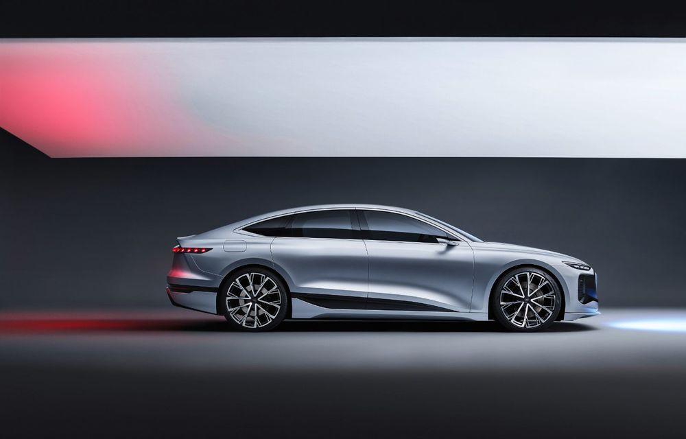 Audi prezintă conceptul electric A6 e-tron: autonomie de peste 700 de kilometri și încărcare rapidă la 270 kW - Poza 19