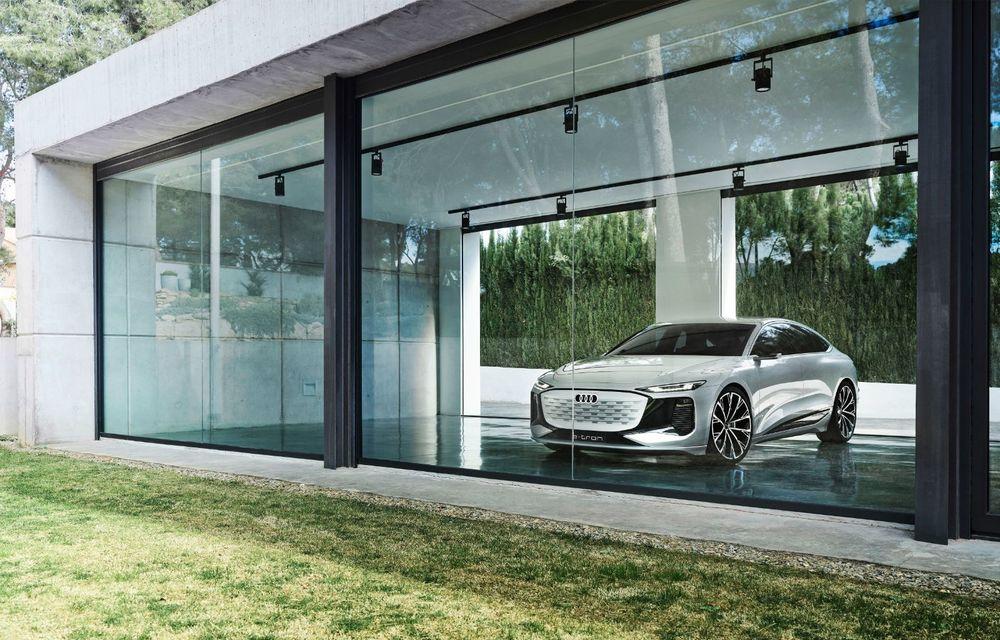 Audi prezintă conceptul electric A6 e-tron: autonomie de peste 700 de kilometri și încărcare rapidă la 270 kW - Poza 38