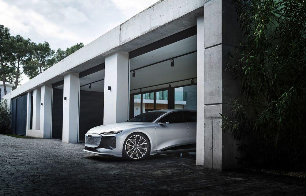 Audi prezintă conceptul electric A6 e-tron: autonomie de peste 700 de kilometri și încărcare rapidă la 270 kW - Poza 39