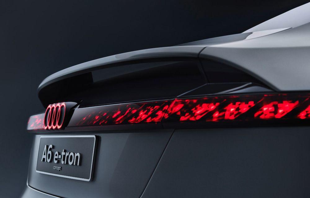 Audi prezintă conceptul electric A6 e-tron: autonomie de peste 700 de kilometri și încărcare rapidă la 270 kW - Poza 22