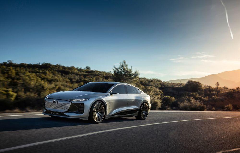 Audi prezintă conceptul electric A6 e-tron: autonomie de peste 700 de kilometri și încărcare rapidă la 270 kW - Poza 6