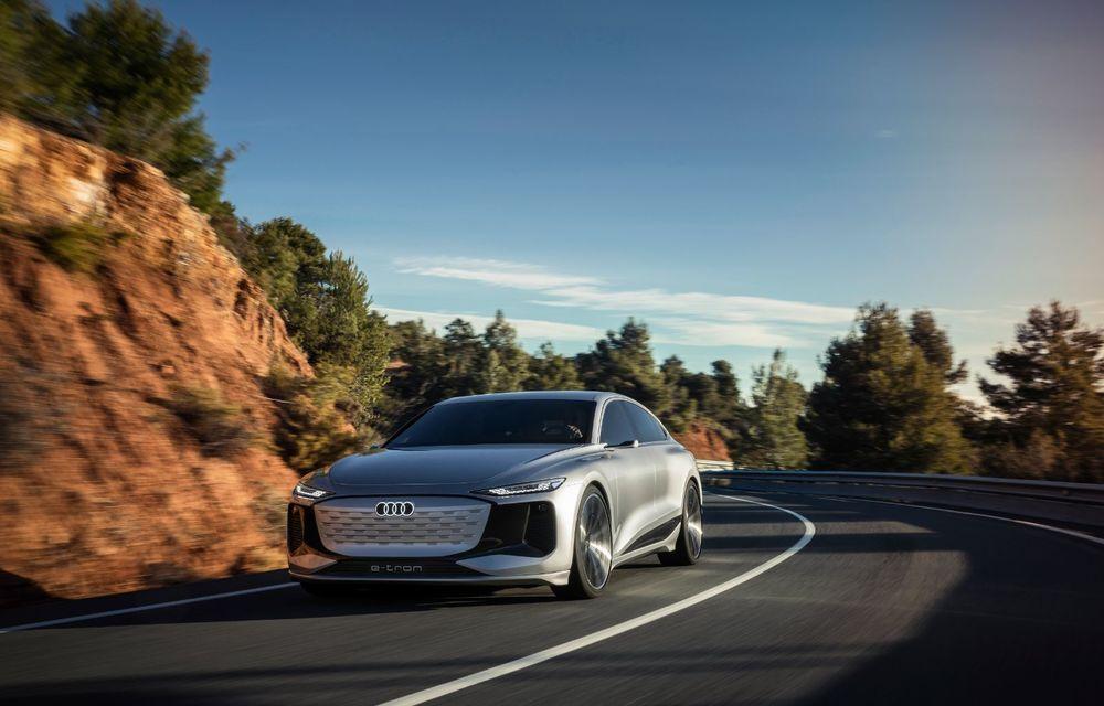 Audi prezintă conceptul electric A6 e-tron: autonomie de peste 700 de kilometri și încărcare rapidă la 270 kW - Poza 7