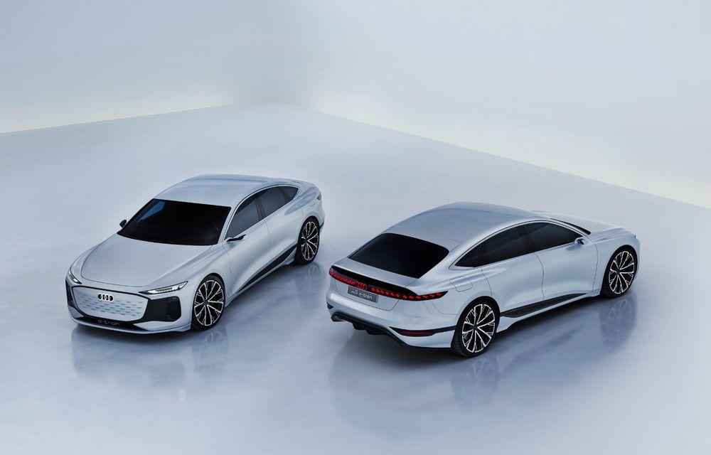 Audi prezintă conceptul electric A6 e-tron: autonomie de peste 700 de kilometri și încărcare rapidă la 270 kW - Poza 28
