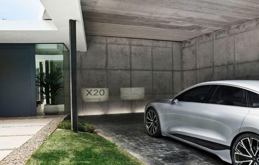 Audi prezintă conceptul electric A6 e-tron: autonomie de peste 700 de kilometri și încărcare rapidă la 270 kW - Poza 35