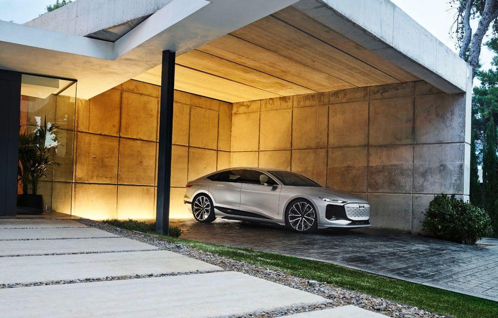 Audi prezintă conceptul electric A6 e-tron: autonomie de peste 700 de kilometri și încărcare rapidă la 270 kW - Poza 33