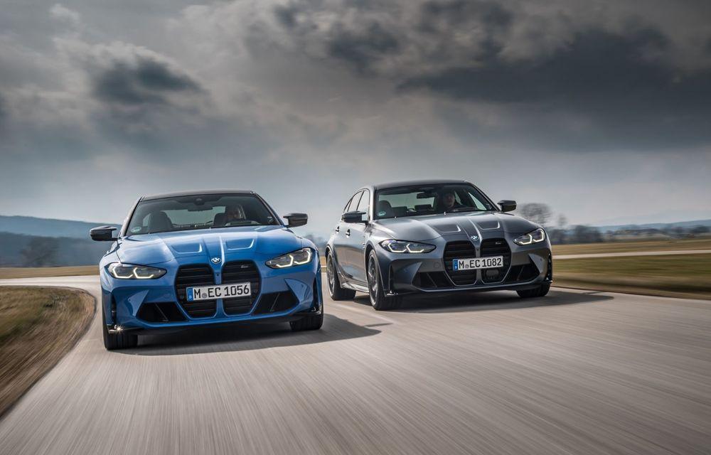 PREMIERĂ: BMW M3 Competition și M4 Competition lansate oficial cu tracțiune integrală M xDrive - Poza 7