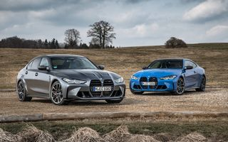 PREMIERĂ: BMW M3 Competition și M4 Competition lansate oficial cu tracțiune integrală M xDrive