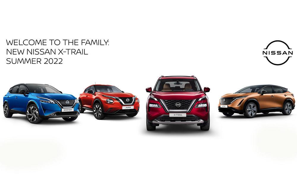 Noul Nissan X-Trail: prima imagine și primele informații ale SUV-ului cu 7 locuri - Poza 2