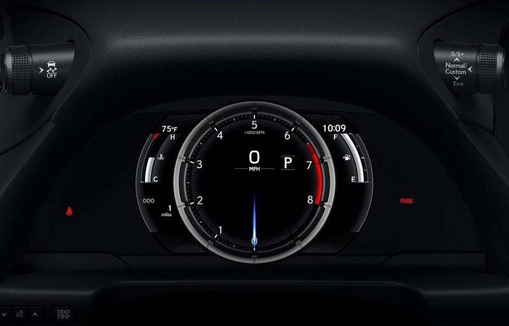 Lexus ES facelift: îmbunătățiri estetice, mai multă tehnologie și versiune nouă ES 300h F Sport - Poza 32