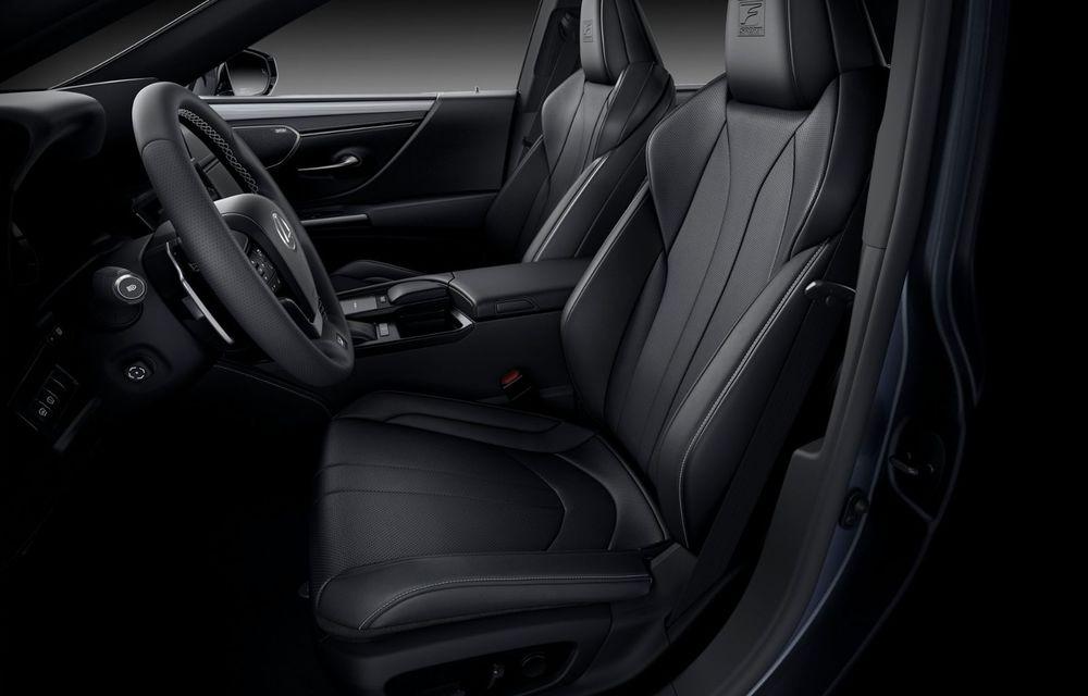 Lexus ES facelift: îmbunătățiri estetice, mai multă tehnologie și versiune nouă ES 300h F Sport - Poza 28
