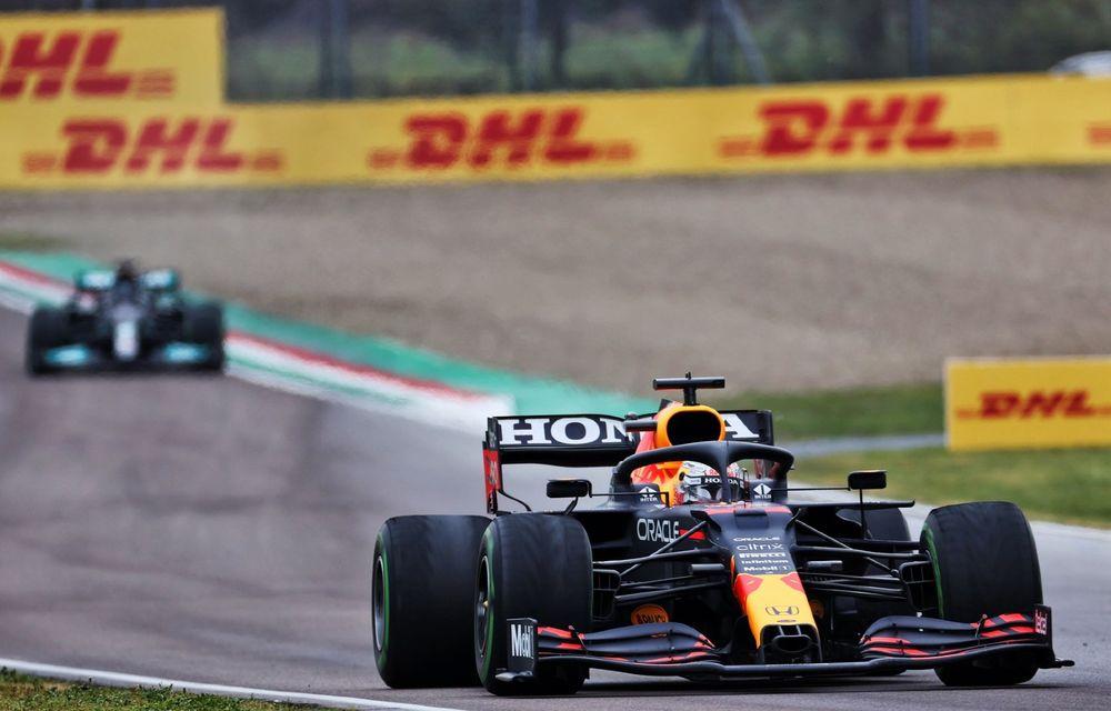 FORMULA 1: Max Verstappen, învingător la Imola. Cursa a fost oprită în turul 35 după un accident dur - Poza 9