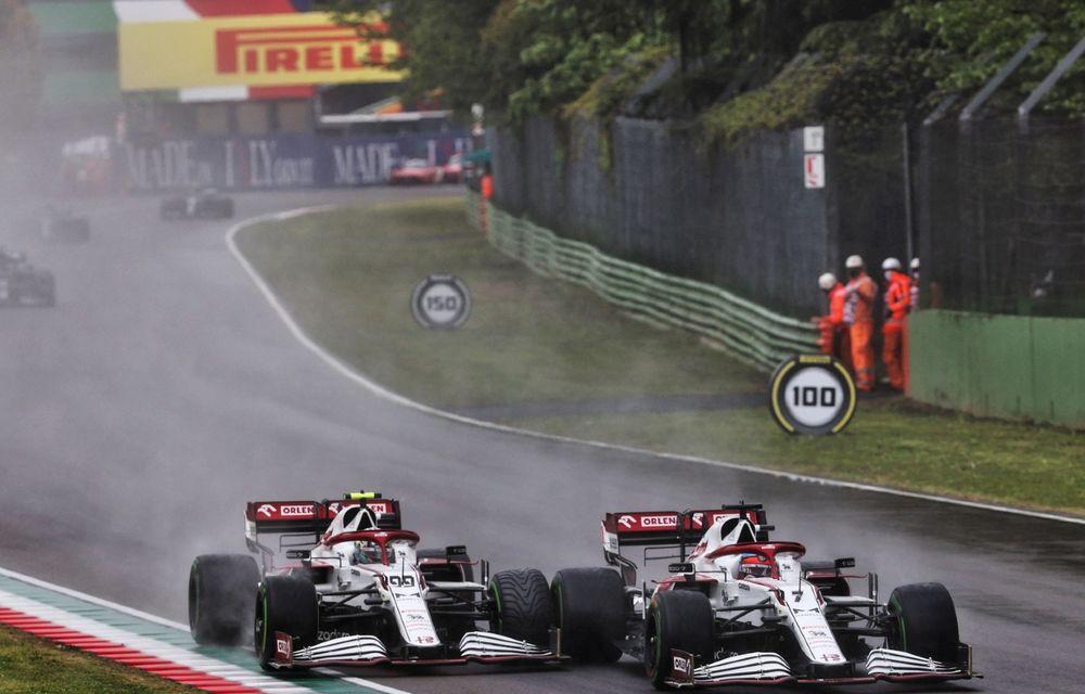 FORMULA 1: Max Verstappen, învingător la Imola. Cursa a fost oprită în turul 35 după un accident dur - Poza 7