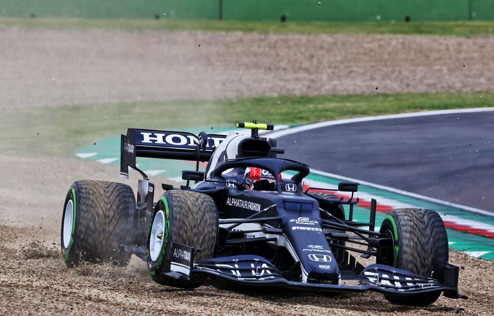 FORMULA 1: Max Verstappen, învingător la Imola. Cursa a fost oprită în turul 35 după un accident dur - Poza 5