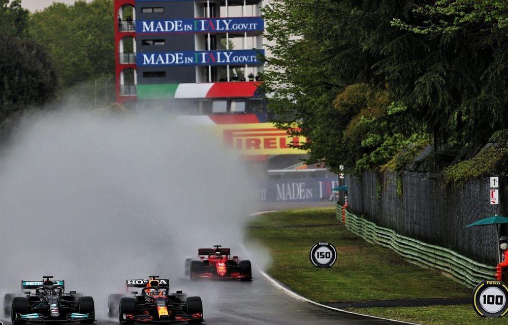 FORMULA 1: Max Verstappen, învingător la Imola. Cursa a fost oprită în turul 35 după un accident dur - Poza 10