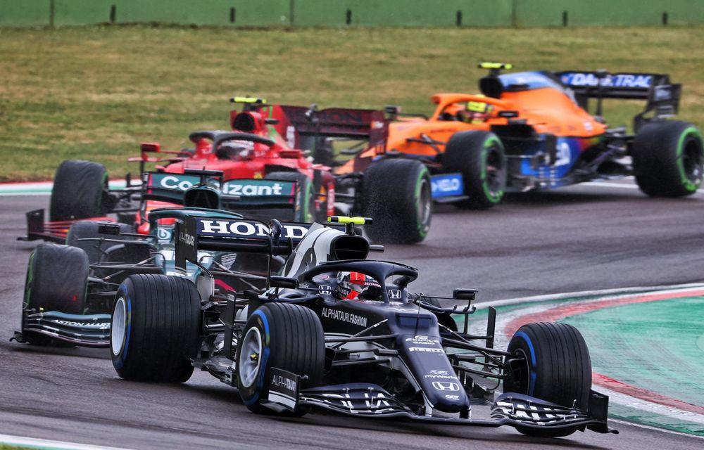 FORMULA 1: Max Verstappen, învingător la Imola. Cursa a fost oprită în turul 35 după un accident dur - Poza 2