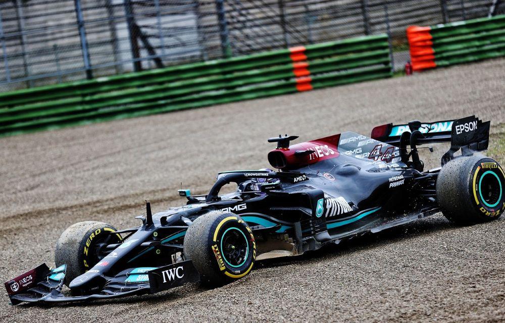 FORMULA 1: Max Verstappen, învingător la Imola. Cursa a fost oprită în turul 35 după un accident dur - Poza 6