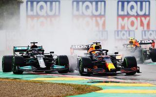 FORMULA 1: Max Verstappen, învingător la Imola. Cursa a fost oprită în turul 35 după un accident dur