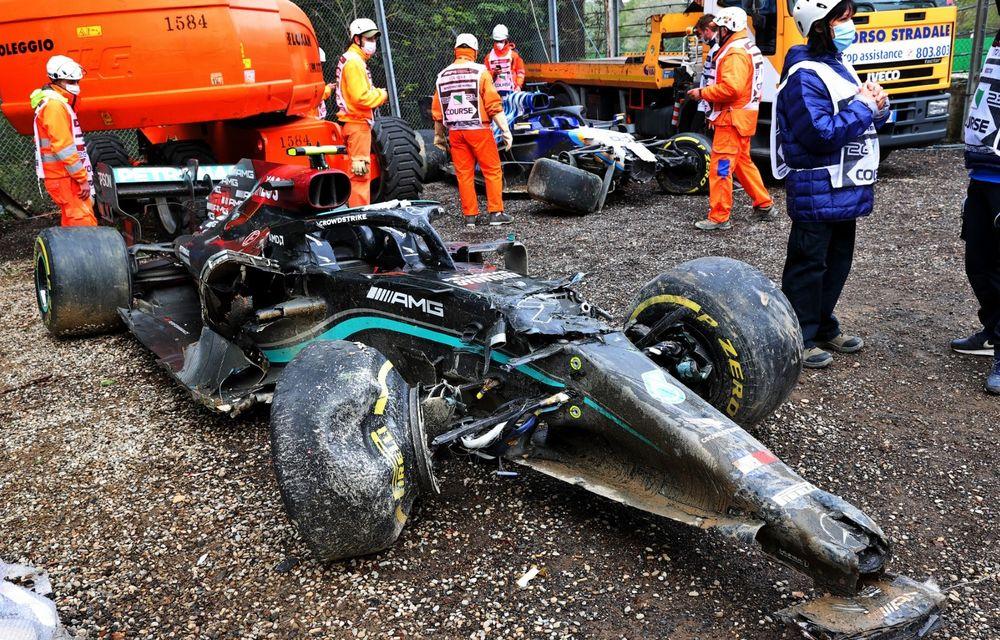 FORMULA 1: Max Verstappen, învingător la Imola. Cursa a fost oprită în turul 35 după un accident dur - Poza 8