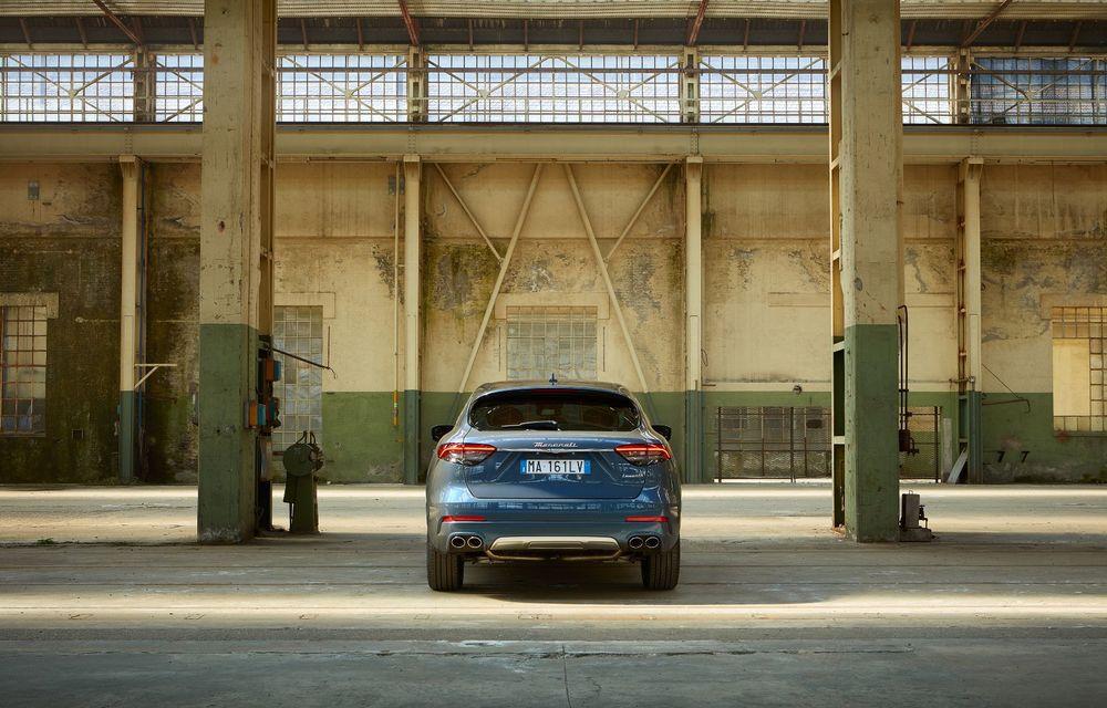 Primul SUV electrificat de la Maserati: Levante primește versiune micro-hibridă de 330 CP - Poza 3