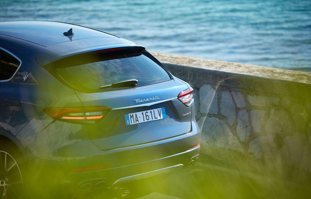 Primul SUV electrificat de la Maserati: Levante primește versiune micro-hibridă de 330 CP - Poza 19