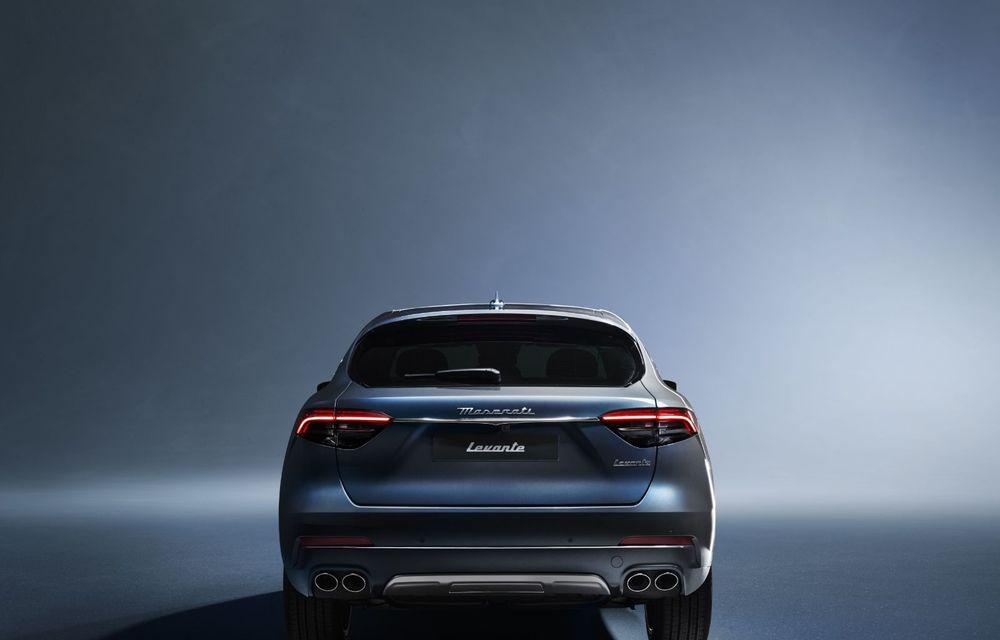 Primul SUV electrificat de la Maserati: Levante primește versiune micro-hibridă de 330 CP - Poza 43