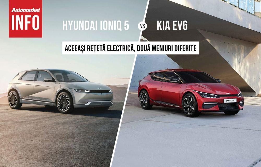 AUTOMARKET INFO: Comparație între electricele Ioniq 5 și Kia EV6 - Poza 1