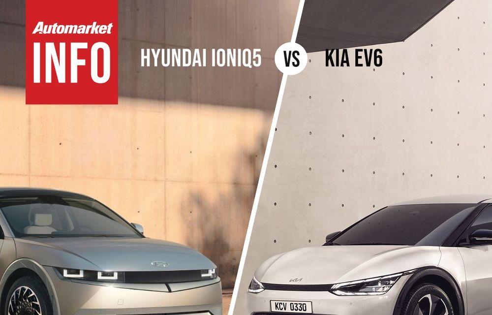 AUTOMARKET INFO: Comparație între electricele Ioniq 5 și Kia EV6 - Poza 3