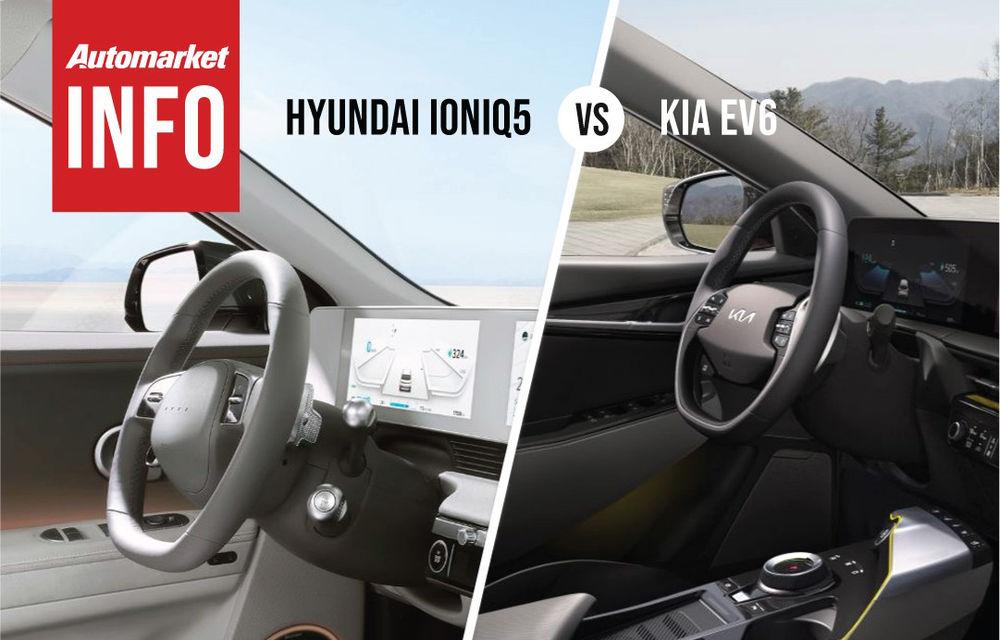 AUTOMARKET INFO: Comparație între electricele Ioniq 5 și Kia EV6 - Poza 6