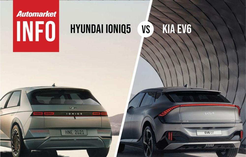 AUTOMARKET INFO: Comparație între electricele Ioniq 5 și Kia EV6 - Poza 4