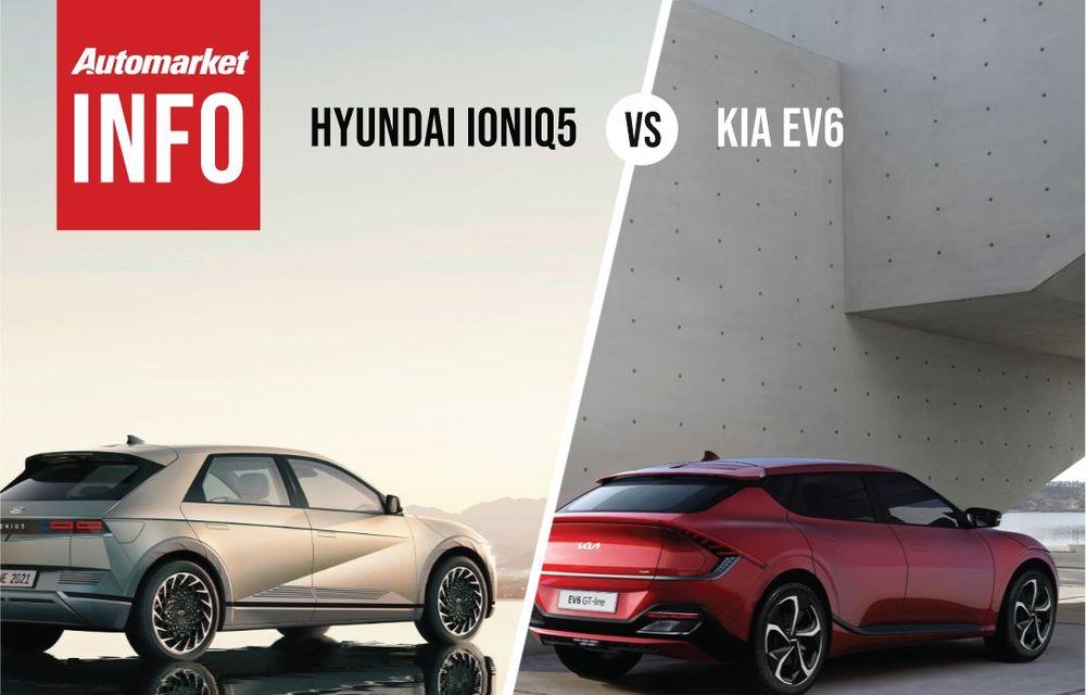 AUTOMARKET INFO: Comparație între electricele Ioniq 5 și Kia EV6 - Poza 5