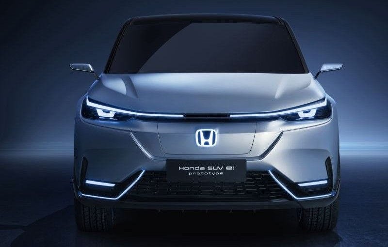 Honda prezintă SUV e:prototype: conceptul anunță un SUV electric pentru piața chineză - Poza 3