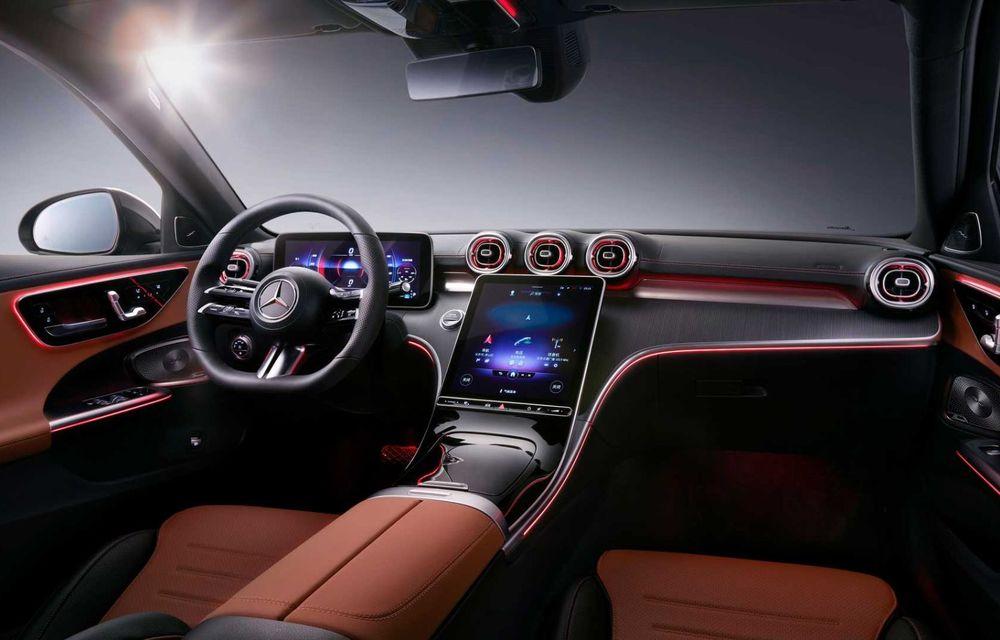 Mercedes-Benz Clasa C L: versiune cu ampatament mărit, disponibilă doar pe piața din China - Poza 7