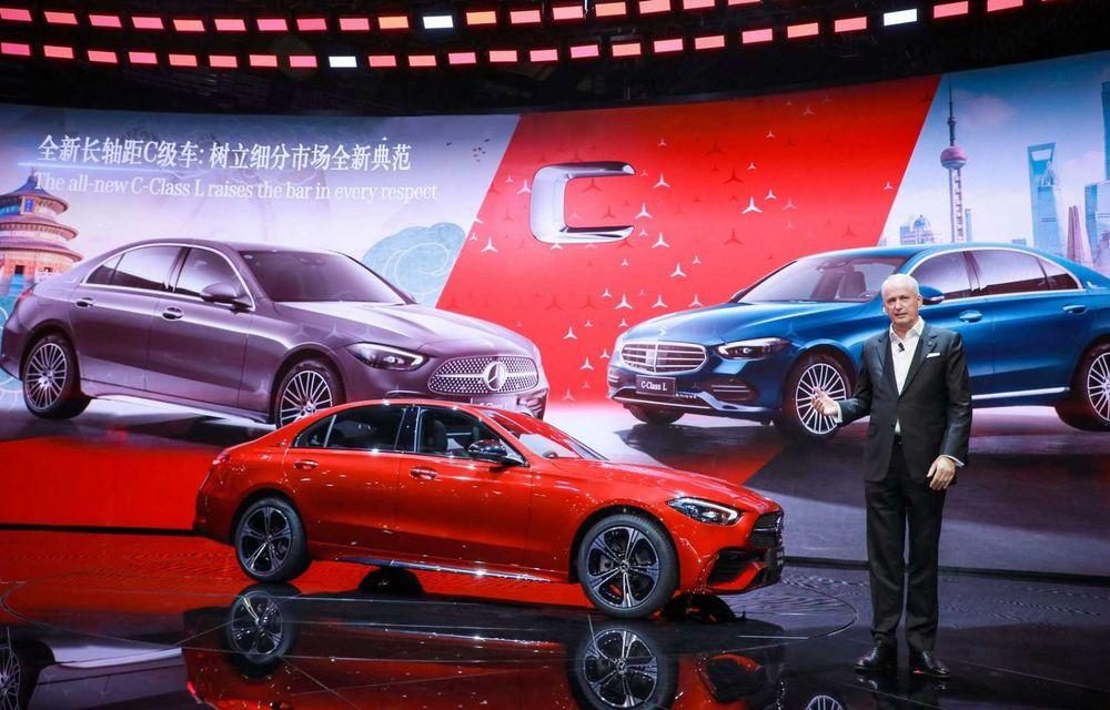 Mercedes-Benz Clasa C L: versiune cu ampatament mărit, disponibilă doar pe piața din China - Poza 3