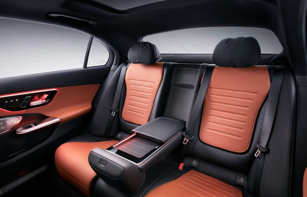 Mercedes-Benz Clasa C L: versiune cu ampatament mărit, disponibilă doar pe piața din China - Poza 9