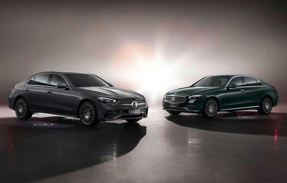 Mercedes-Benz Clasa C L: versiune cu ampatament mărit, disponibilă doar pe piața din China - Poza 4